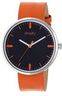 Simplify Men's The 4500 Quartz Watch.