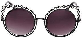 Betsey Johnson Crystal Kitty Sunglasses