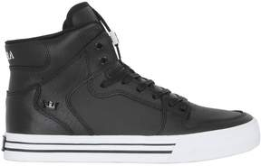 Supra Vider Leather High Top Sneakers