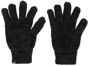 Plush Metallic Smartphone Gloves