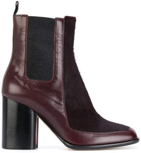 Paul Smith panelled ankle boots