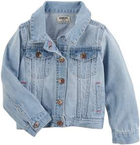 Osh Kosh Girls 4-12 Classic Denim Jacket