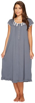 Eileen West Cotton Modal Jersey Waltz Gown Women's Pajama