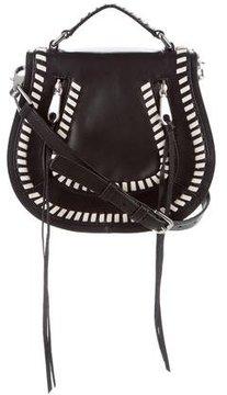 Rebecca Minkoff Vanity Saddle Bag - BLACK - STYLE