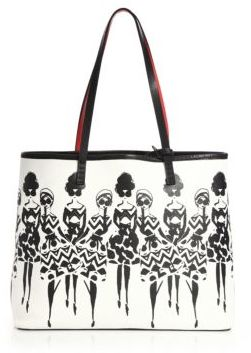 Alice + Olivia Veronica Small Cotton Tote