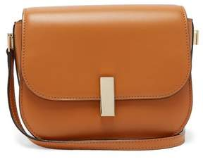 Valextra Iside Cross Body Leather Bag - Womens - Tan