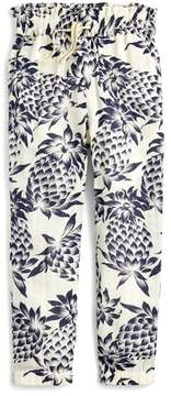 J.Crew crewcuts by Wallace Pineapple Print Pants