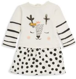 Catimini Baby's & Little Girl's Dotted Cotton Dress