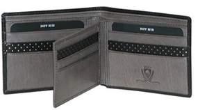 Dopp Men's Rfid Alpha Collection Id Deluxe Credit Card Billfo.
