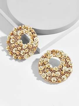 BaubleBar Macaria Hoop Earrings
