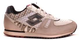 Lotto Leggenda Women's Beige Suede Sneakers.