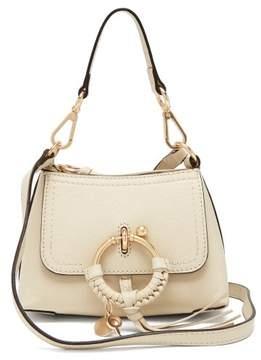 See by Chloe Joan Mini Leather Cross Body Bag - Womens - Cream