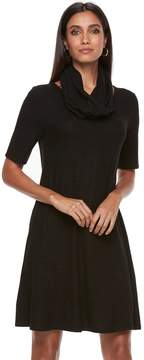 Apt. 9 Women's Infinity Scarf & Marled Dress