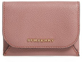 Burberry Women's Mayfield Leather Card Case - Pink - PINK - STYLE