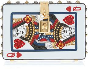 Dolce & Gabbana Queen of Hearts Card Clutch