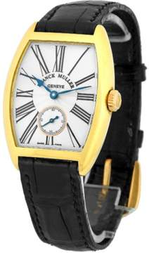 Franck Muller Cintree Curvex Casablanca 18K Yellow Gold Medium Size Unisex Watch