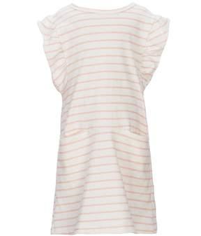 Jessica Simpson Little Girls 2T-6X Striped Flutter-Sleeve Dress