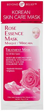Beyond Belief Korean Skin Care Rose Essence Mask