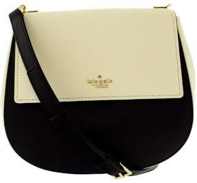 Kate Spade Women's Cameron Street Byrdie Leather Cross Body Bag - Black/Cement - BLACK/CEMENT - STYLE