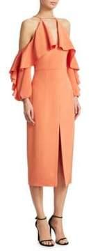 Cushnie et Ochs Cold Shoulder Pencil Dress