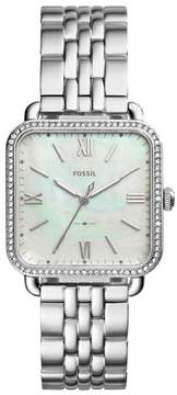 Fossil Women's Micah Square Bracelet Watch, 32Mm X 32Mm