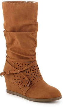Jessica Simpson Girls Monterey Toddler & Youth Wedge Boot
