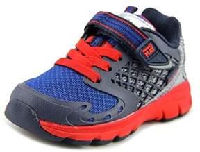 Stride Rite M2p Breccen Toddler Round Toe Synthetic Blue Tennis Shoe.