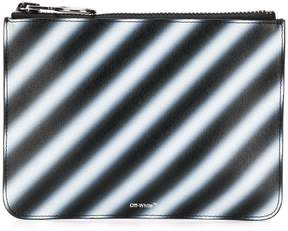 Off-White diagonal spray pouch