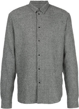 IRO long sleeved checked shirt