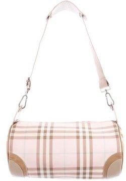 Burberry Nova Check Shoulder Bag - PINK - STYLE