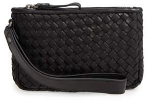 Robert Zur Small Maya Leather Clutch - Black
