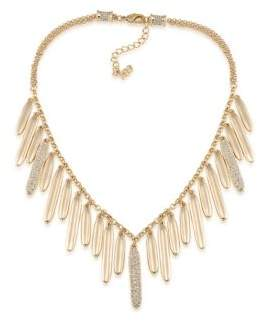 ABS by Allen Schwartz Venice Beach Pave Drop Necklace