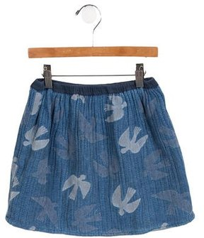 Bobo Choses Girls' Patterned Mini Skirt