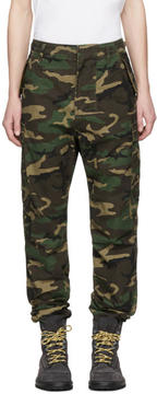 Nonnative Green Camo Trooper Cargo Pants