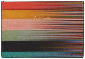 Paul Smith Multicolor Artist Stripe Card Holder