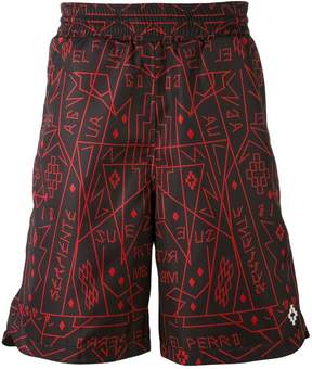 Marcelo Burlon County of Milan graphic print shorts