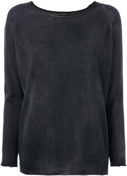 Avant Toi boat neck sweater