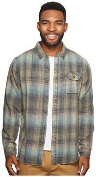 VISSLA Sabroso Long Sleeve Flannel Top Men's Clothing