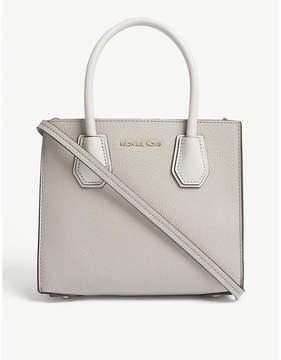 MICHAEL Michael Kors Michael Kors Pearl Grey Mercer Grained Leather Tote Bag