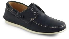 John Varvatos Men's Schooner Leather Boat Shoes
