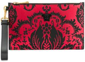 Versace printed square clutch bag