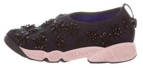 Christian Dior Fusion Embellished Sneakers.