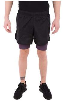 Reebok Men's Black Polyamide Shorts.