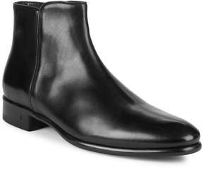 John Varvatos Men's Eldridge Leather Zip Ankle Boots