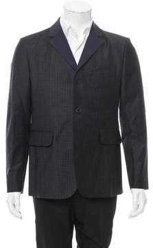 Carven Wool Three-Button Blazer w/ Tags