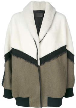Drome oversized bomber-style coat