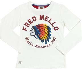 Fred Mello Native American Cotton Jersey T-Shirt