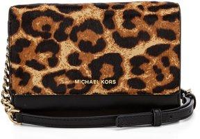 MICHAEL Michael Kors Ruby Leopard Haircalf Clutch - BUTTERSCOTCH - STYLE