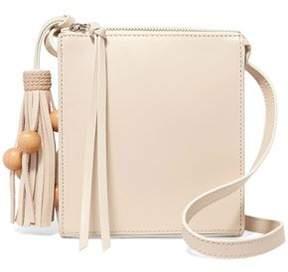 Elizabeth and James Sara Tasseled Leather Shoulder Bag