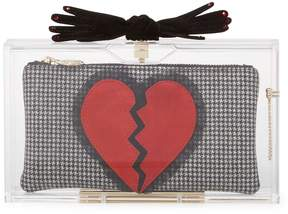 Charlotte Olympia Women's Pandora's Broken Heart Box Clutch